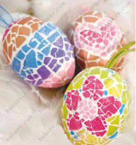 Как создать мозаику на яйцах