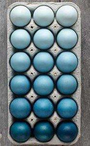 Яйца одного тона