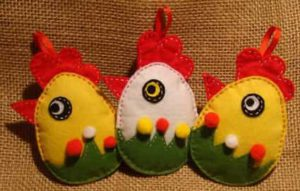 Яйца из ткани