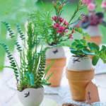 Яичная скорлупа для пасхальных украшений