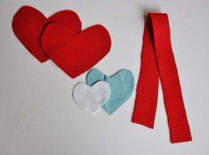Сердечко с цветочком 12