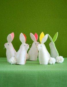 Пасхальные кролики своими руками