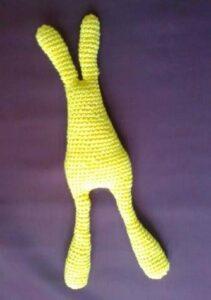 Связанное крючком тело Кролика