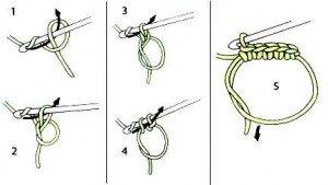 Как связать кольцо