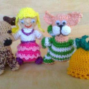 Пальчиковые игрушки из сказки Репка