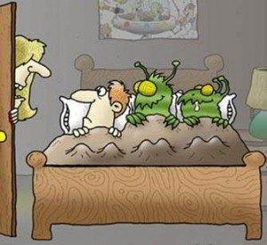 О постельных клещах