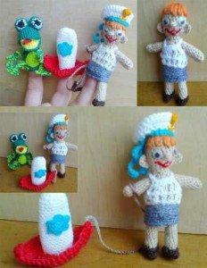 Пальчиковые игрушки из стихотворения