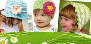 Как связать летнюю шляпку для девочки