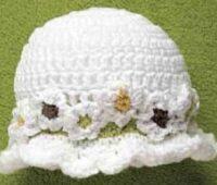 Нарядная шляпка для девочки
