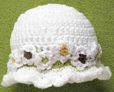 Нарядная шляпка для маленькой девочки