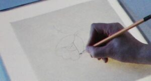 Перевод рисунка на ткань первый шаг