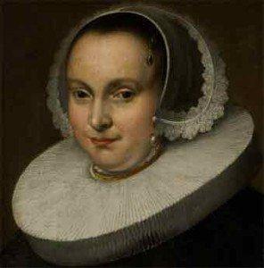 Старинный женский головной убор