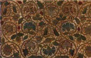 Английская ткань начала семнадцатого столетия