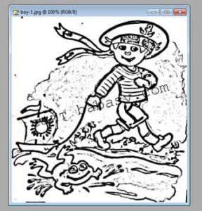 Выделение изображения на рисунке