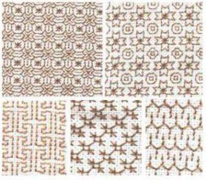 Узоры для вышивки блекворк