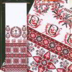 Свадебные рушники схемы