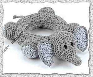 Слон с телом в виде кольца