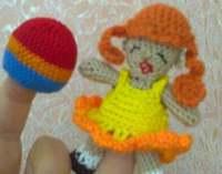 Как связать сарафан для куклы