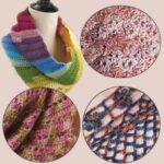 Волшебный узел на женских шарфах