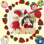 Сладкая ягода связана крючком для разных игрушек
