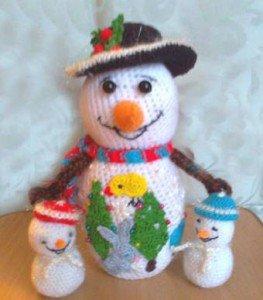 Снеговик и сказка