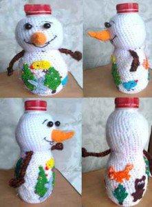 Как сформировать Снеговика из деталей