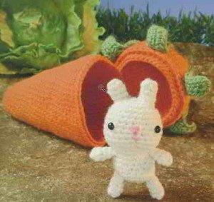 Как связать кролика и морковку
