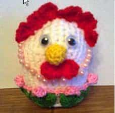 Как украсить пасхальную курицу-яйцо