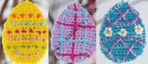 Как вышивать пасхальные яйца