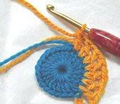 Как прятать хвостики при вязании крючком