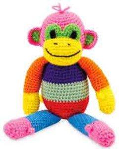 Особенности вязания яркой обезьянки