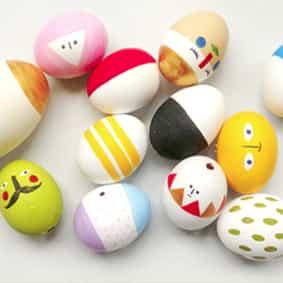 Пример рисунка для пасхальных яиц