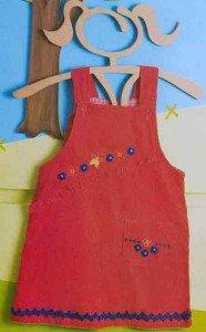 Как украсить детский сарафан