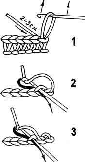 Как закончить вязание детали крючком