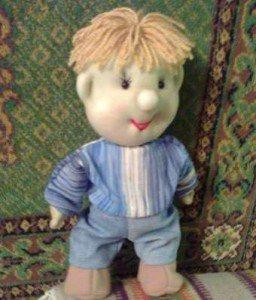 Как сшить куклу из носочков