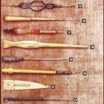 Вязальные крючки из музеев