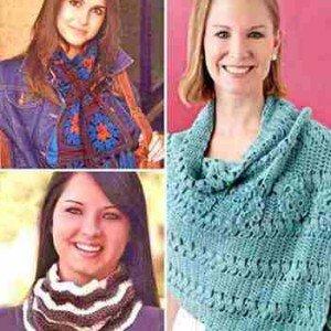 Как вязать шарфы