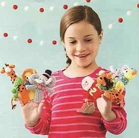 Пальчиковые игрушки - Ной и его животные