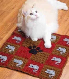 Коврики для кошки и собачки