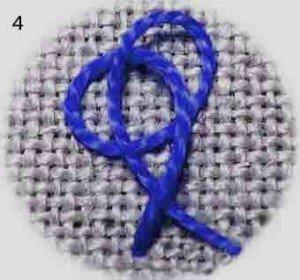 Колониальный узелок, шаг четвертый