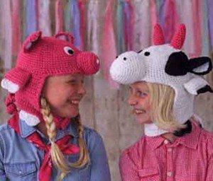 Модели детских шапочек
