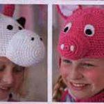 Забавные детские шапочки