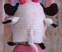 Шапочка коровы, вид сзади