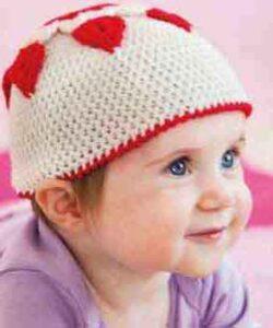 Как связать малышу шапочку