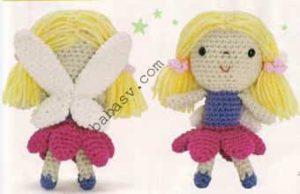 Как сделать прическу для куклы - третий вариант