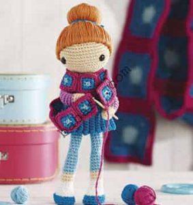 Как сделать прическу для куклы - второй вариант