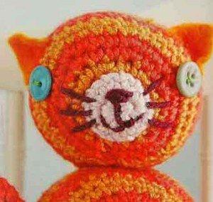 Оранжевый кот внешний вид
