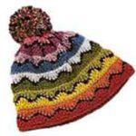 Связанная крючком шапка