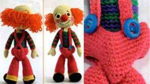 Как связать панталоны для клоуна