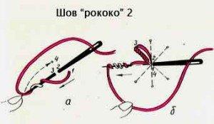 """Узелок """"рококо"""" второй"""
